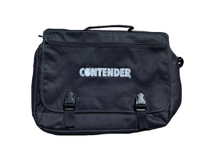Contender Men's Black Messenger Bag