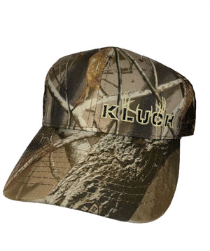 Kluch Real Tree Hardwood  Camo & Antler trucker Hat