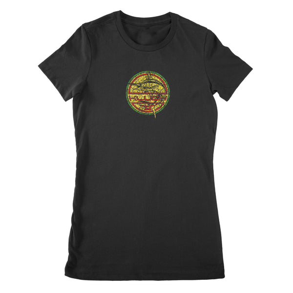 Kluch Ladies Rasta Whistle Short Sleeve T Shirt
