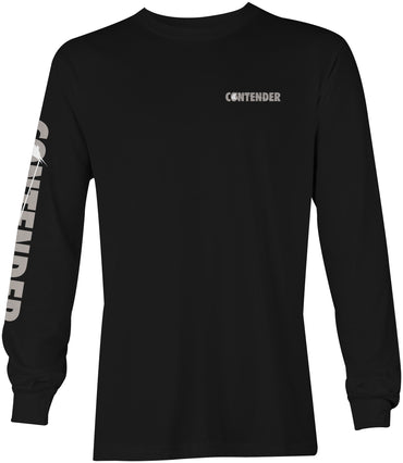 Contender Nighty Black Long Sleeve