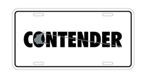 Contender License Plate