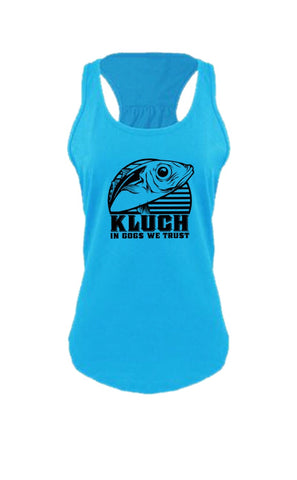 Kluch Ladies Gog Gathered Racerback Tank