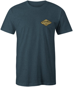 Kluch Men's Boynton Bite Indigo Short Sleeve T Shirt