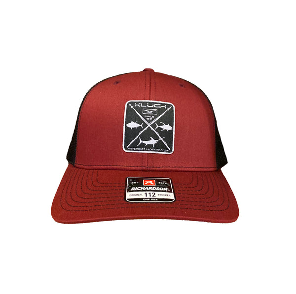 Kluch Harpoon Cardinal / Black Trucker Hat