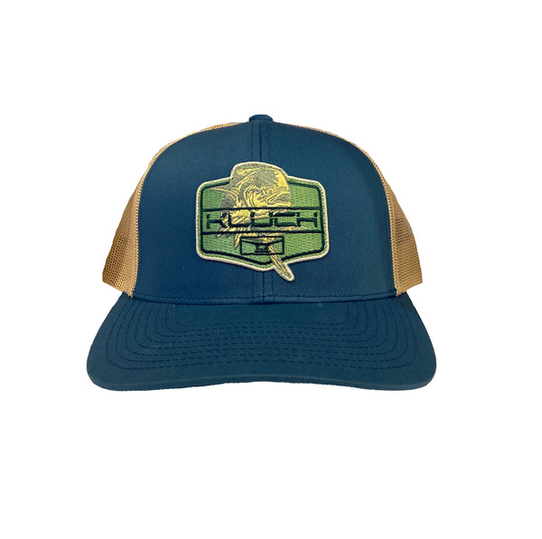 Kluch Dolly Lama Ocean Blue / Beige Trucker Hat