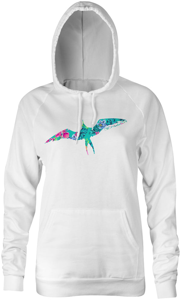 Kluch Womens Floral Frigate Performance Hoodie