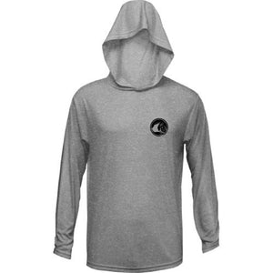 Contender Rounder Hooded Performance Long Sleeve Shirt