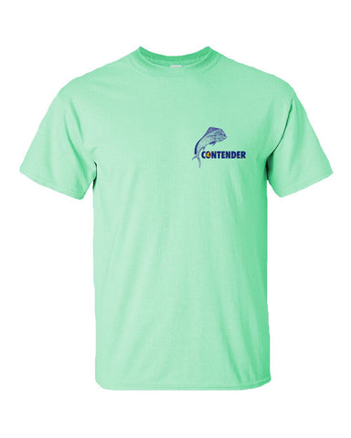 Contender Men's Dolphin Mint Short Sleeve T Shirt