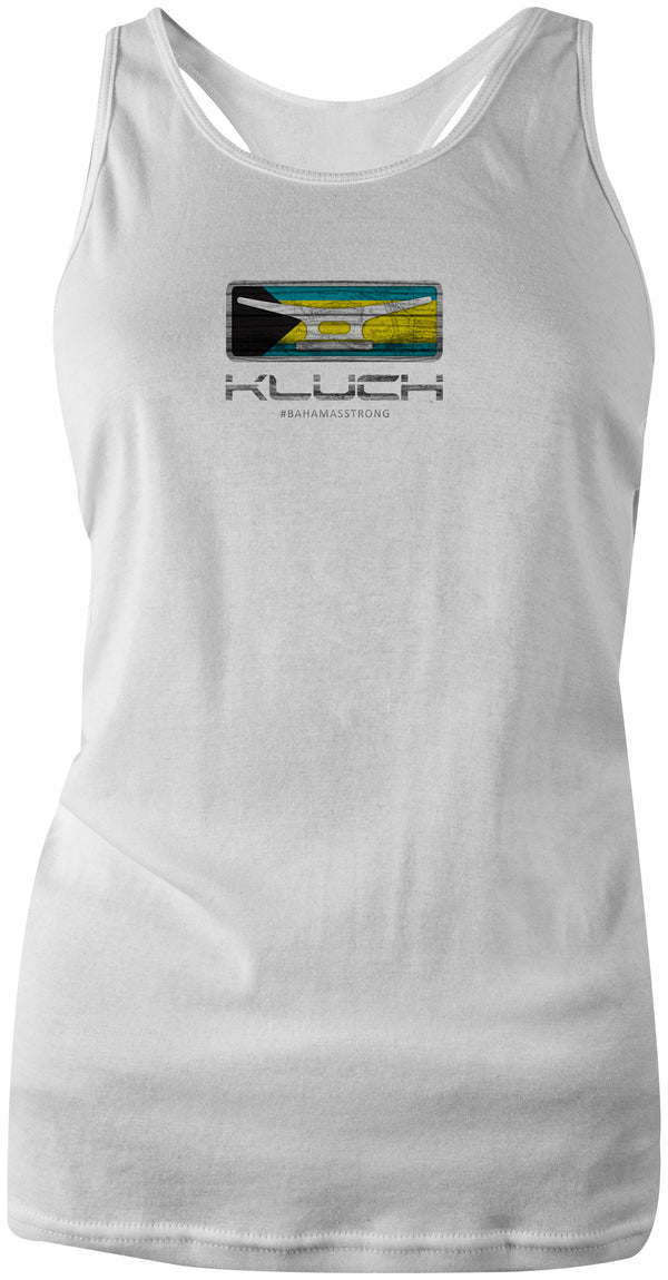 Kluch Bahamas Strong Womens Racerback Tank Top