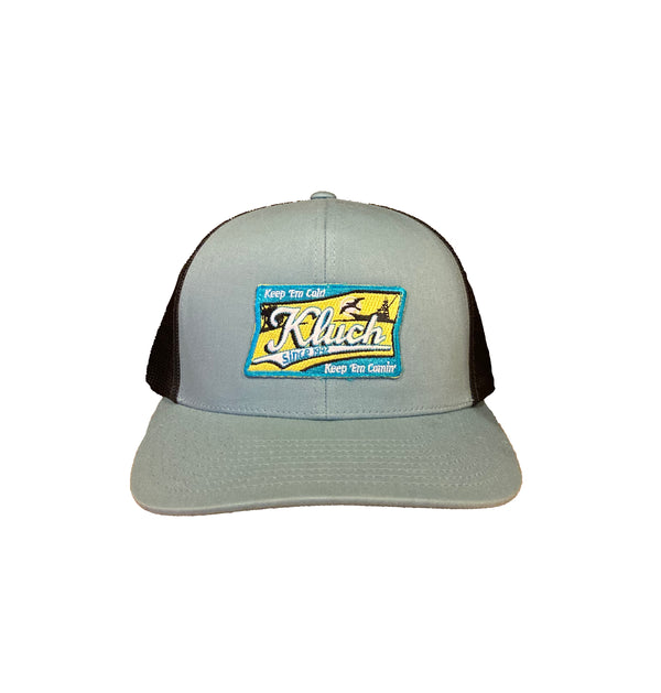 Kluch Schlitzburg Smoke Blue / Charcoal Trucker Hat