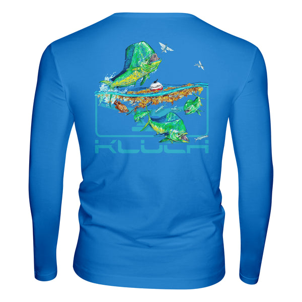 Kluch Raging Bulls Long Sleeve Performance T Shirt