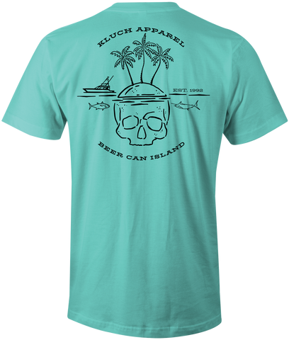 Kluch Beer Can Island Short Sleeve Tee