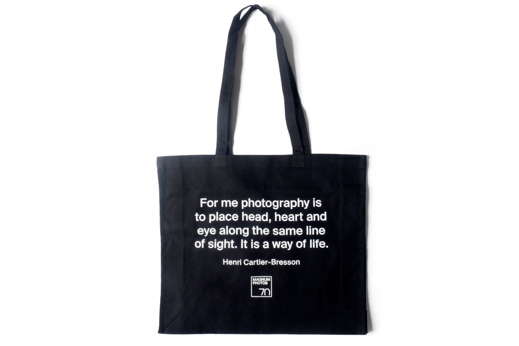 Henri Cartier-Bresson Tote Bag
