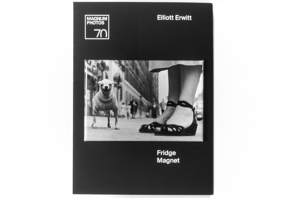 Elliott Erwitt Dog Magnet