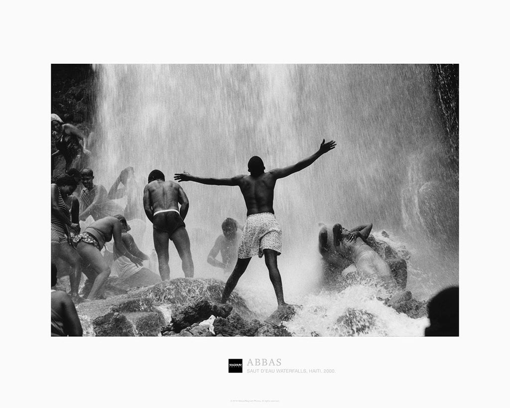 Magnum Collection Poster: Saut d'Eau Waterfalls, Haiti. 2000.