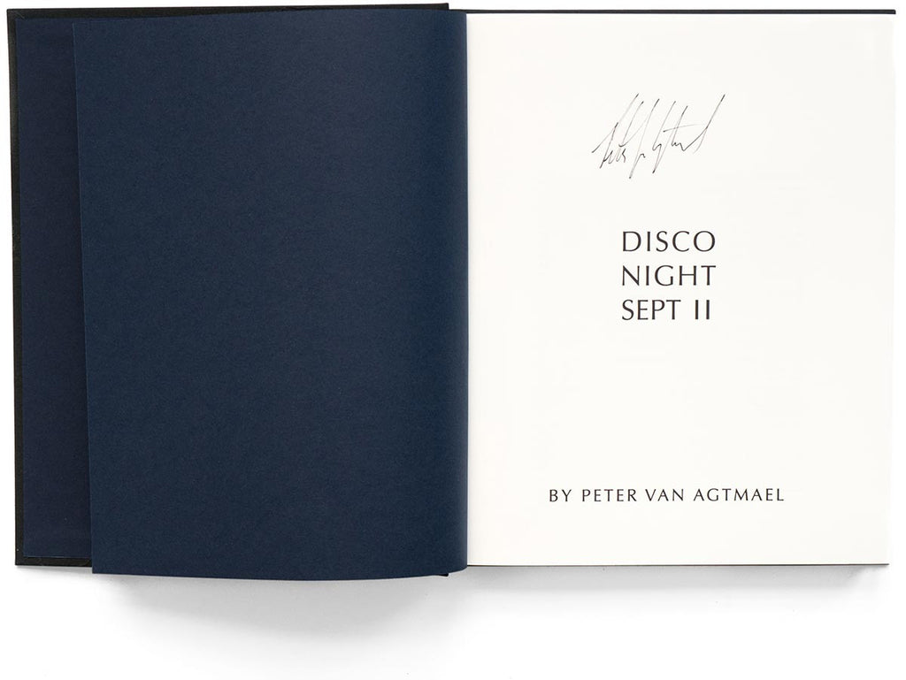 Disco Night Sept. 11 Book Signed by Peter van Agtmael
