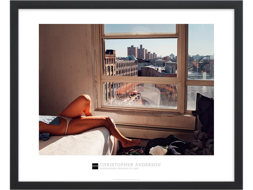 Magnum Collection Poster: Marion on Bed, Brooklyn, NY. 2009.