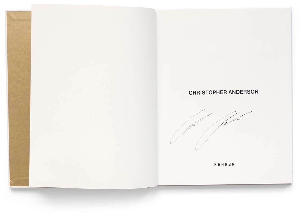 SON Book Signed by Christopher Anderson