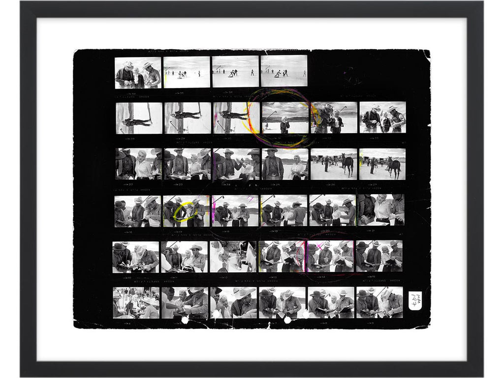 Contact Sheet Print: The Misfits