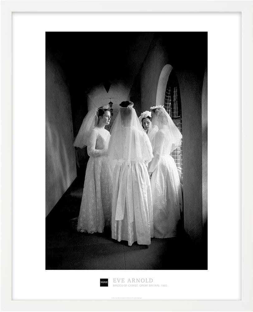 Magnum Collection Poster: Brides of Christ. Great Britain. 1965.