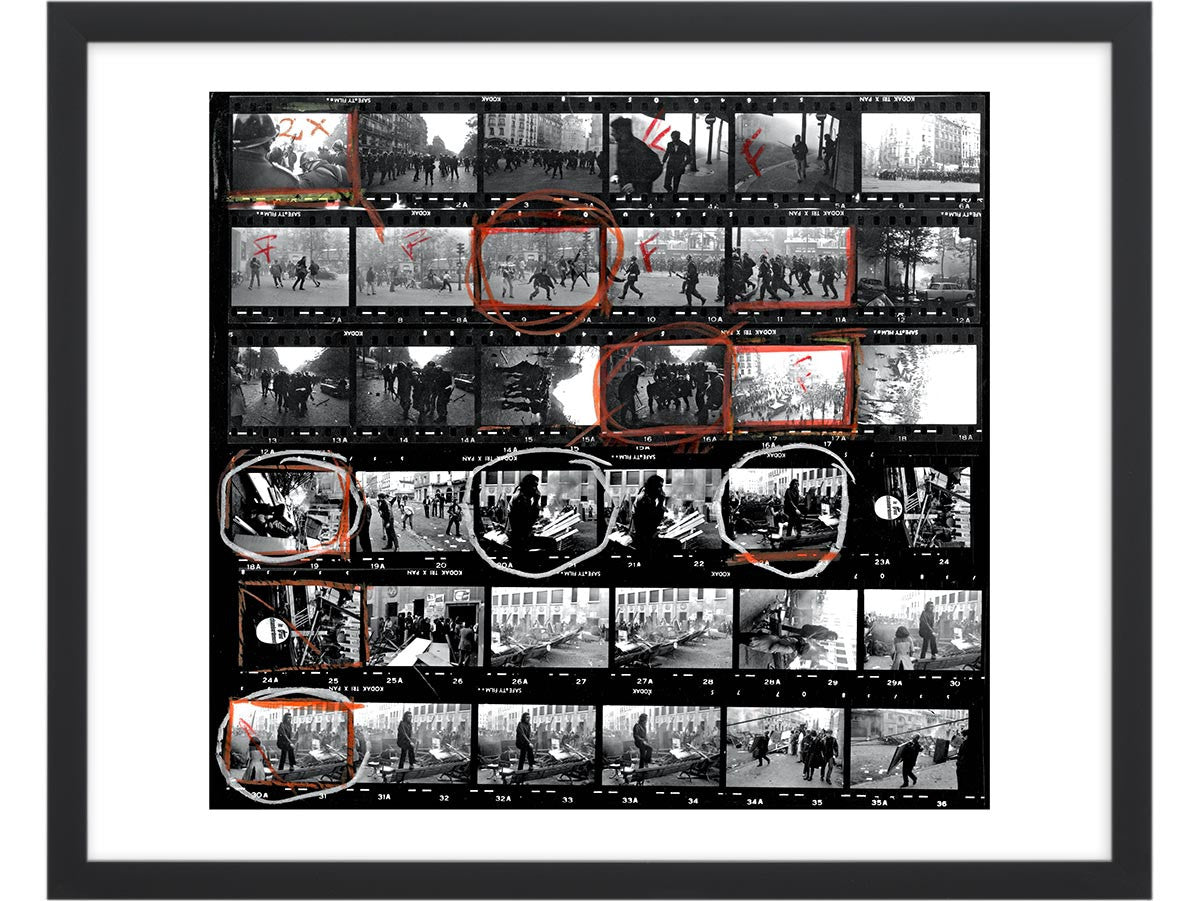 Contact Sheet Print: Student Protests 1968