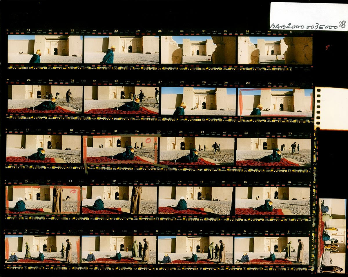 Contact Sheet Print: Rissani, Morocco, 2000