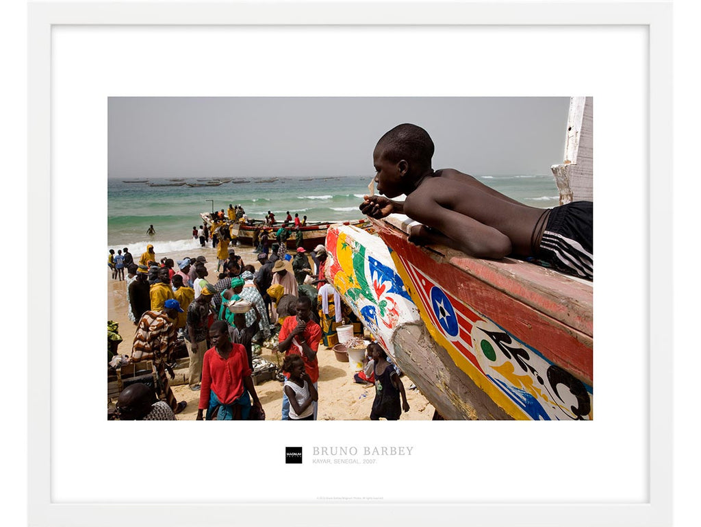 Magnum Collection Poster: Kayar, Senegal. 2007.