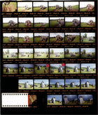 "Contact Sheet Print: ""Satellites,"" Altai Territory, Russia, 2000"