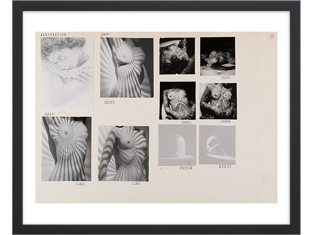 Contact Sheet Print: Abstraction