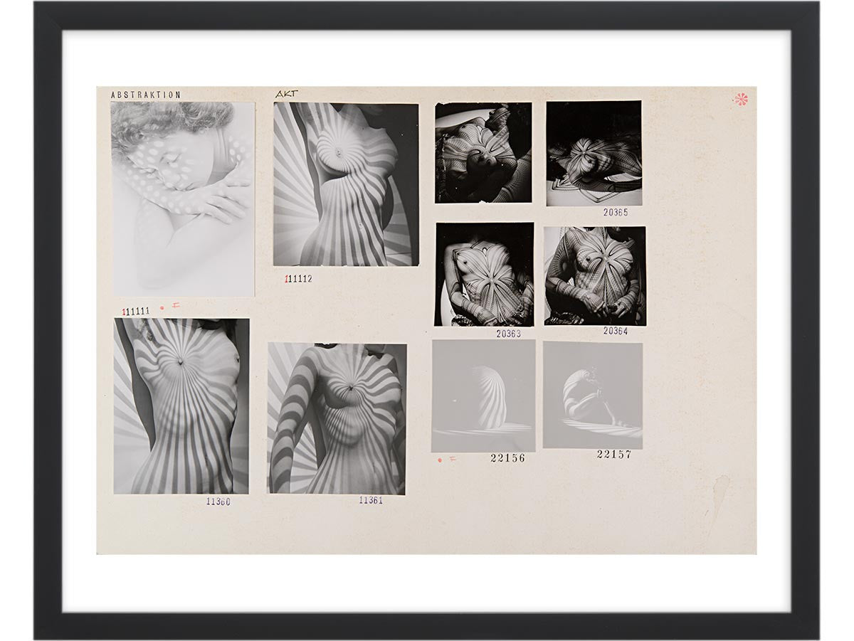 Contact Sheet Print: Abstraction – Magnum Photos
