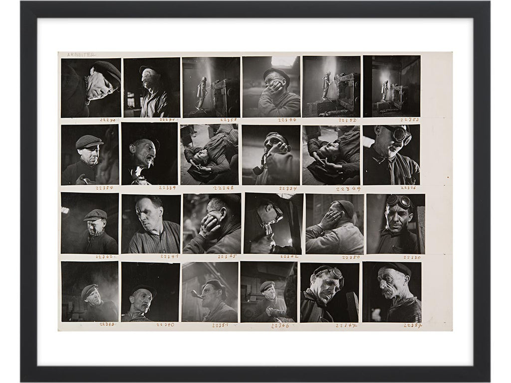 Contact Sheet Print: Swiss Workers