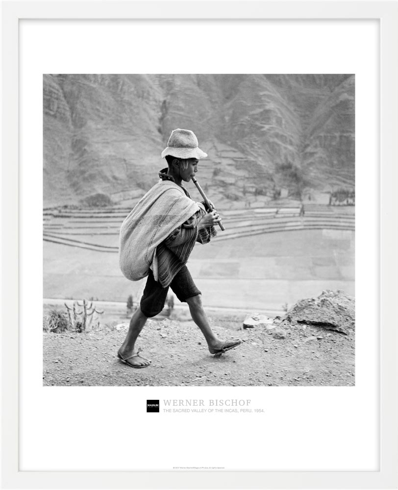 Magnum Collection Poster: The Sacred Valley of the Incas, Peru. 1954.