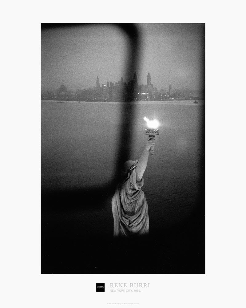 Magnum Collection Poster: Statue of Liberty, New York City. 1959.