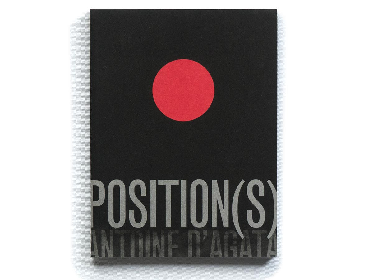 Positions Book Signed by Antoine D'Agata