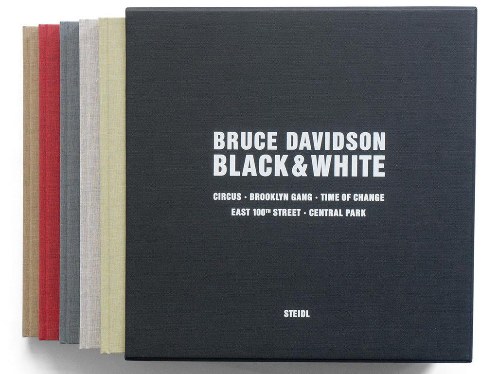 Black & White Book Signed by Bruce Davidson