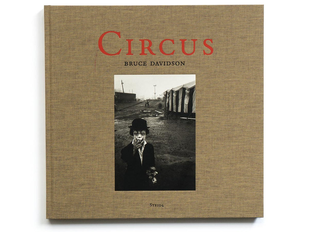 Circus Book Signed by Bruce Davidson