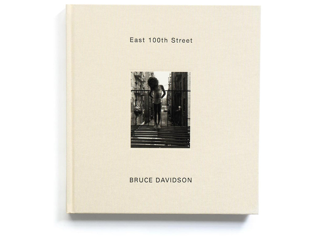 East 100th Street Book Signed by Bruce Davidson