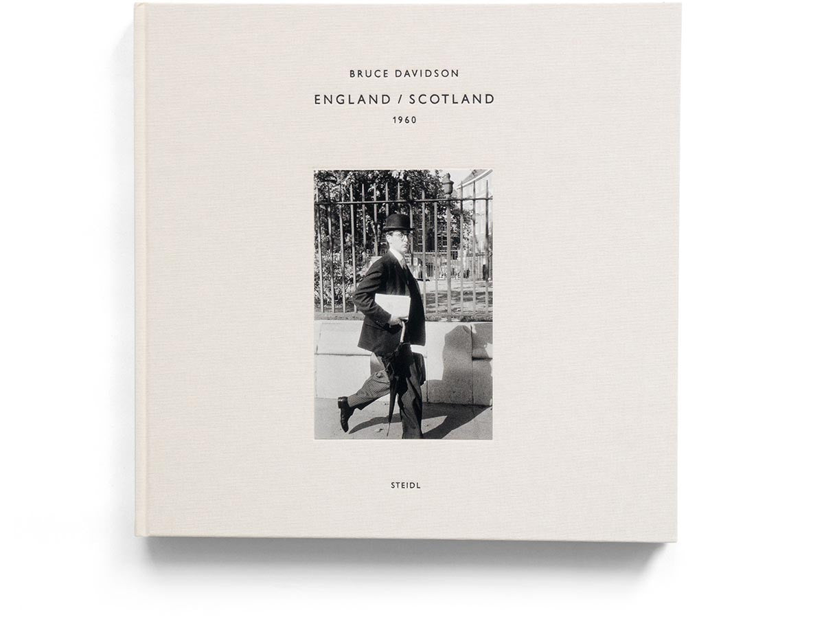England / Scotland 1960 Book Signed by Bruce Davidson