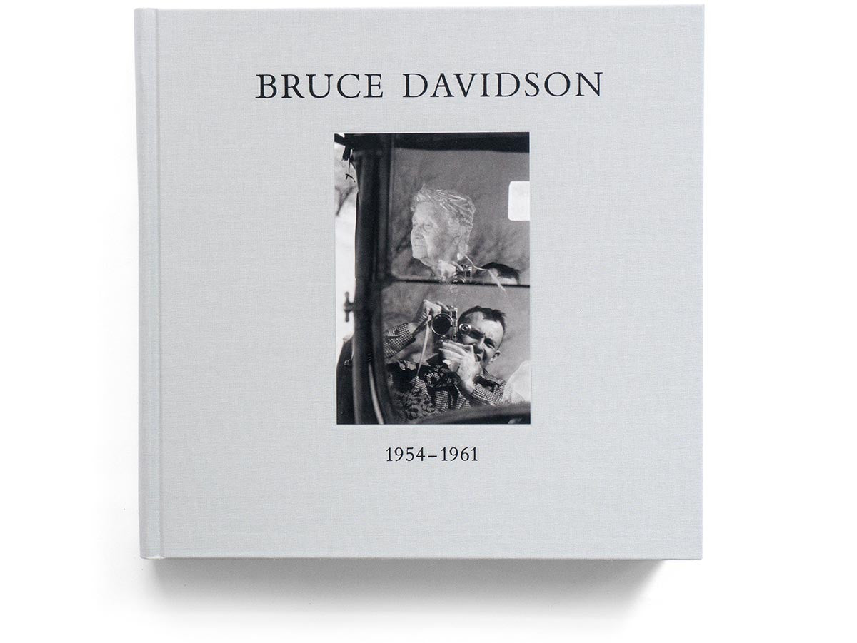 Outside Inside Book Signed by Bruce Davidson