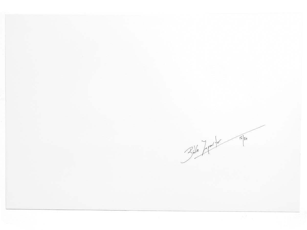 I Am About To Call It a Day Limited Edition Book and Print Signed by Bieke Depoorter