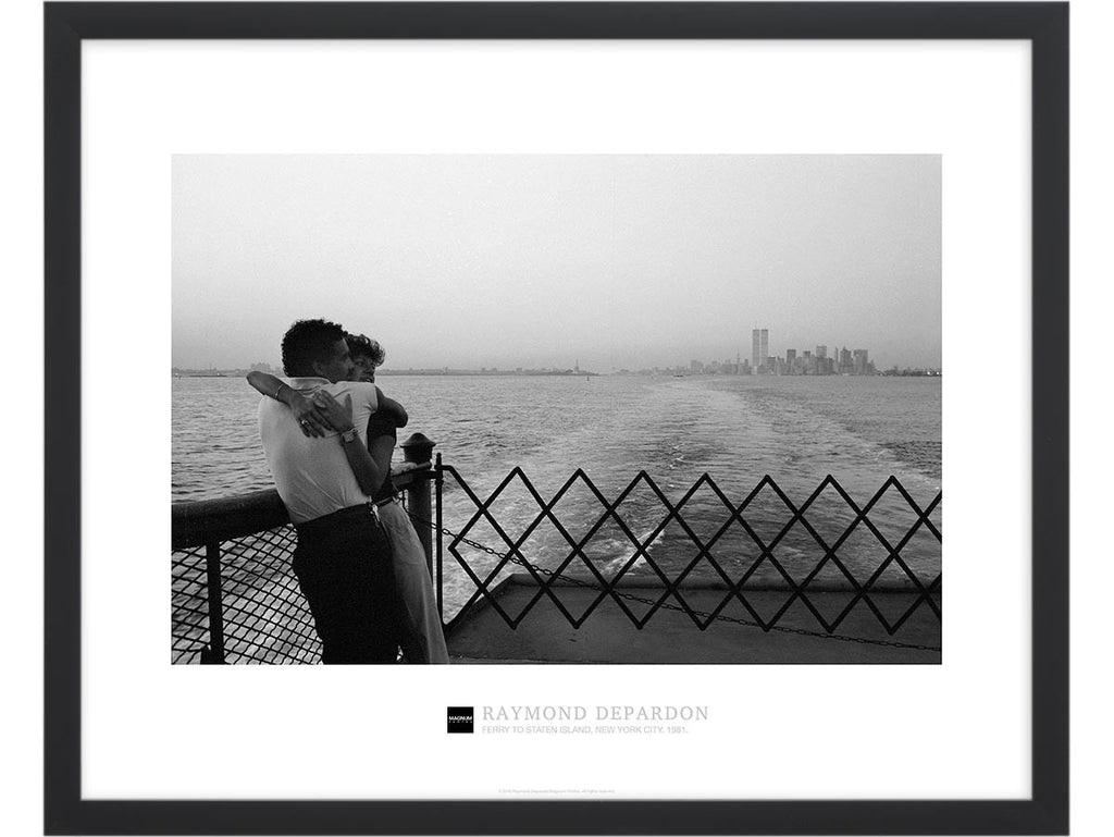 Magnum Collection Poster: Ferry to Staten Island, New York City. 1981.