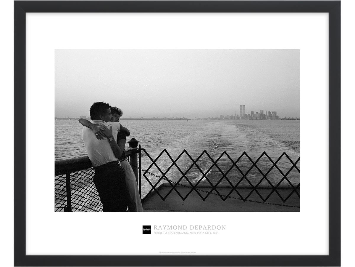Magnum Collection Poster: Ferry to Staten Island, New York City ...
