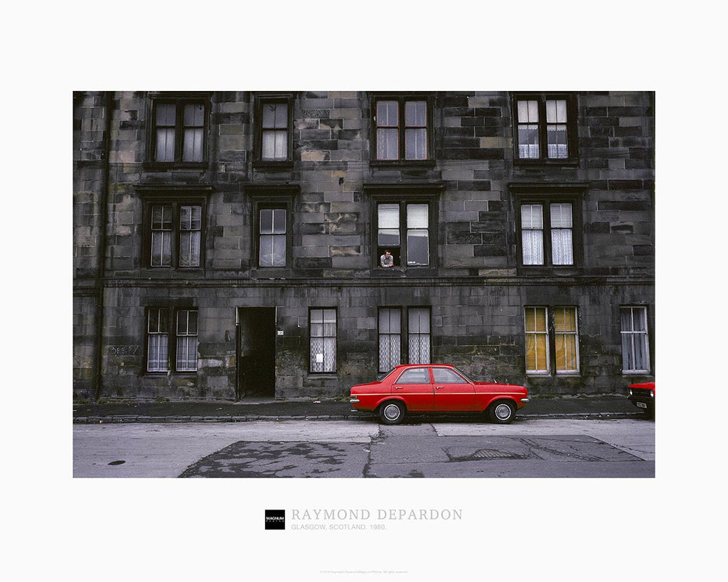 Magnum Collection Poster: Glasgow, Scotland. 1980.