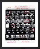 "Contact Sheet Print: ""Life in The Balkans"", Tirana, Albania, 1991"