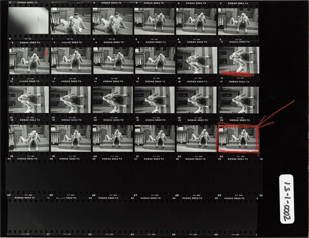 Contact Sheet Print: New York City, USA. 2000