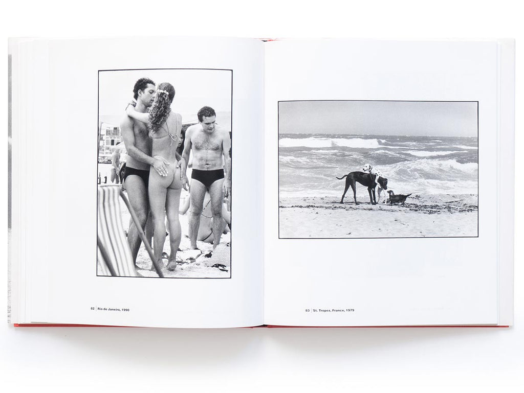 On The Beach Book Signed by Elliott Erwitt
