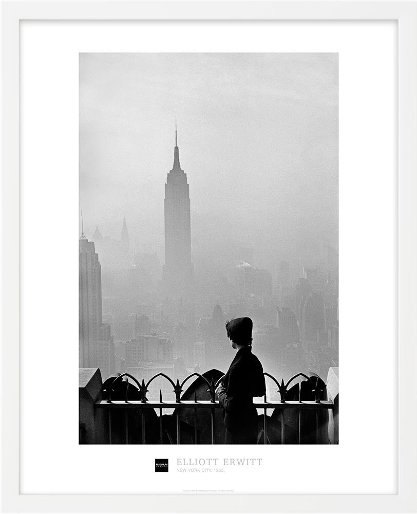 Magnum Collection Poster: Empire State Building, New York City. 1955.
