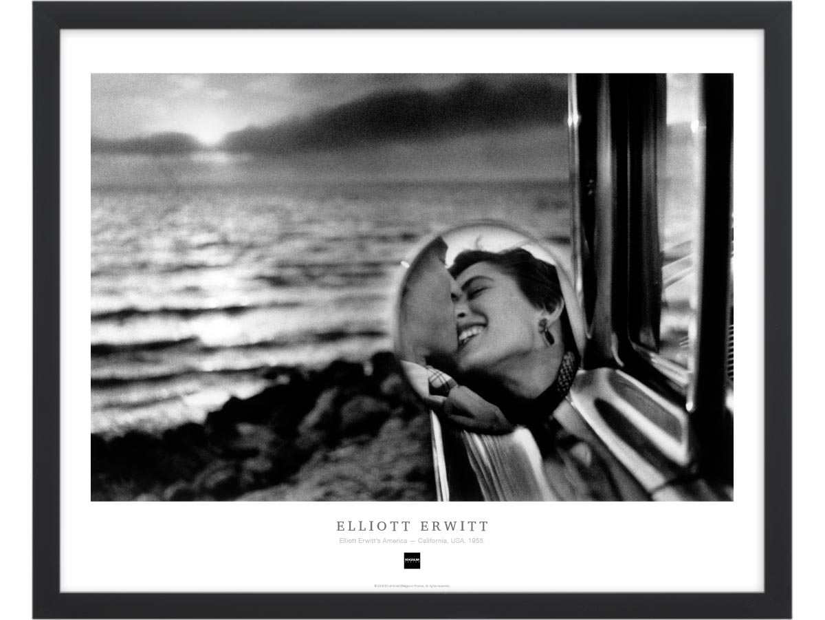 Magnum Collection Poster: Elliott Erwitt's America — California, USA. 1955.