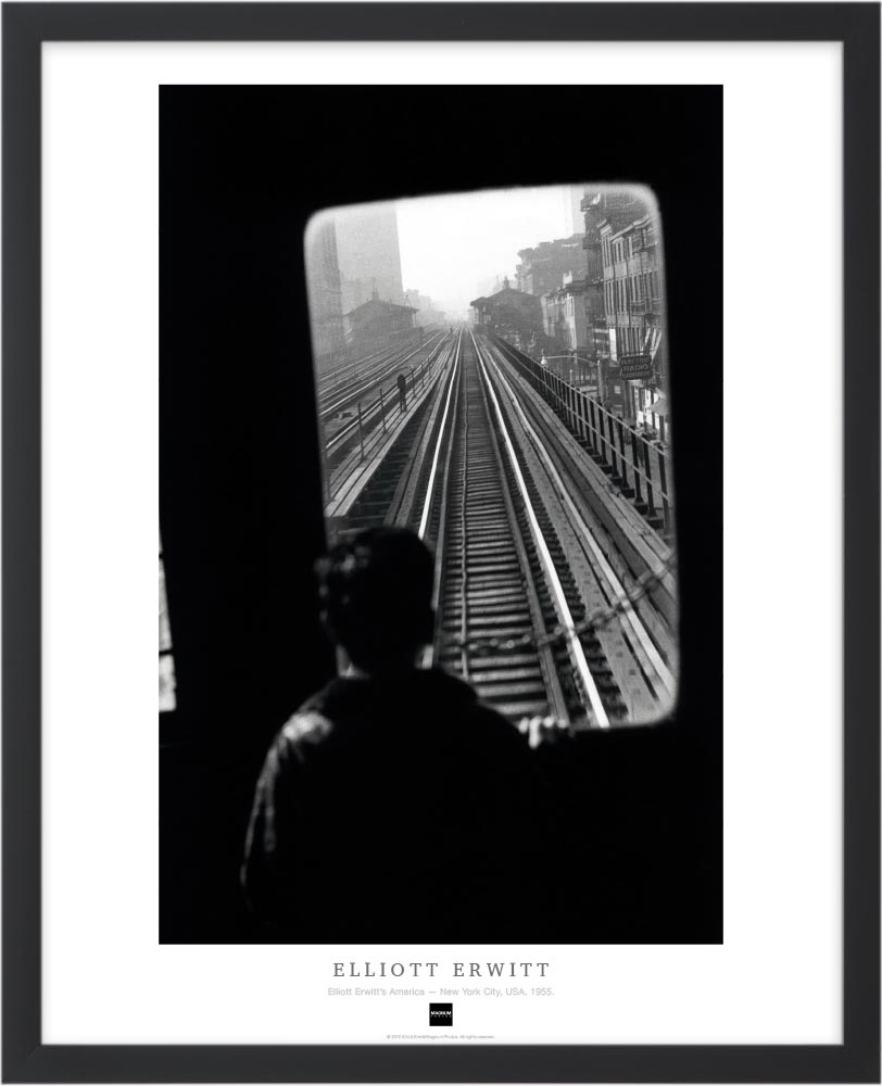 Magnum Collection Poster: Elliott Erwitt's America — New York City, USA. 1955.