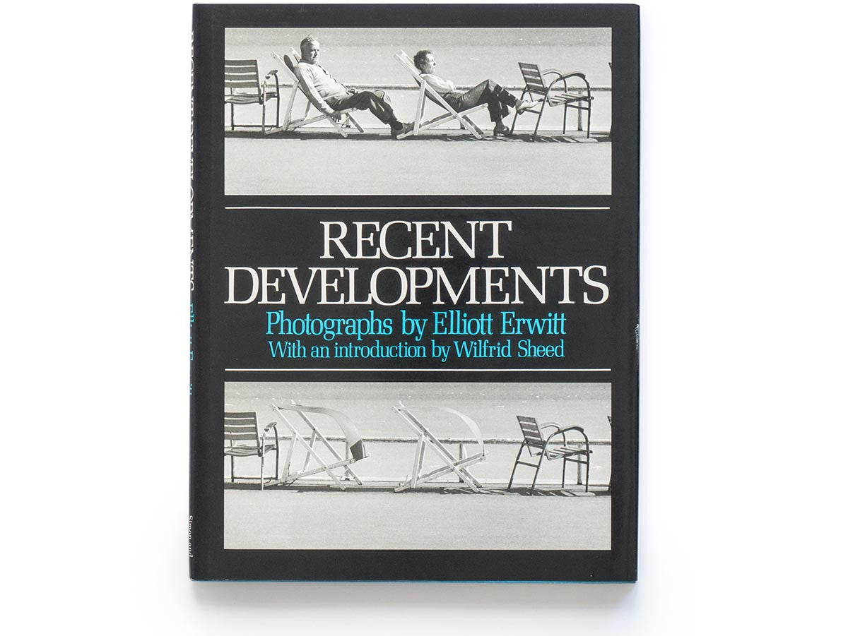 Recent Developments Book Signed by Elliott Erwitt